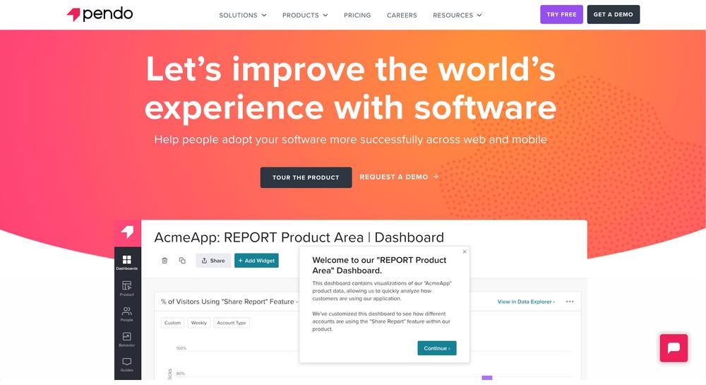 Pendo - startup tools