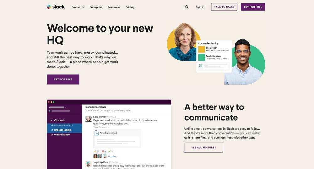 Slack - startup tools