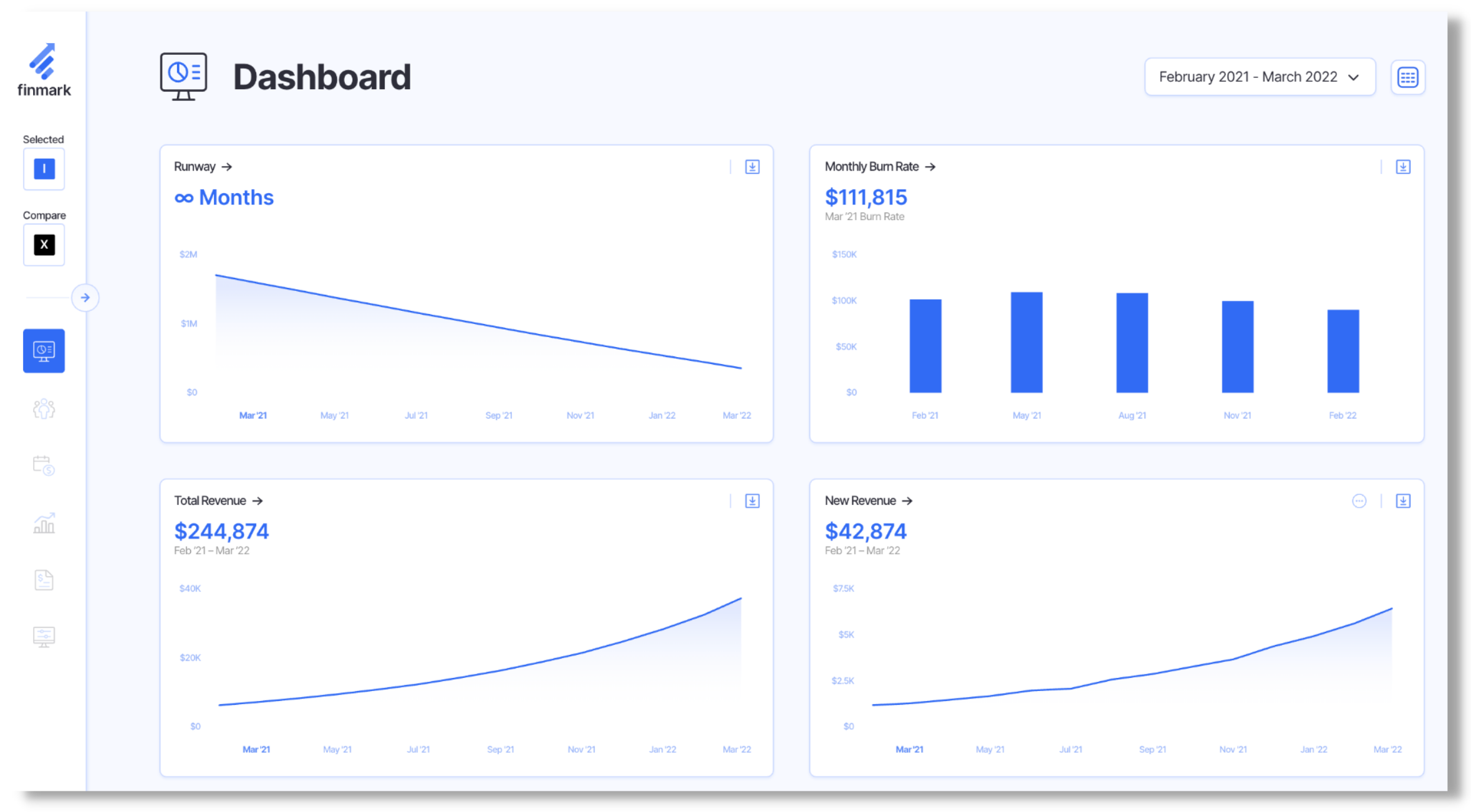 finmark - startup tools