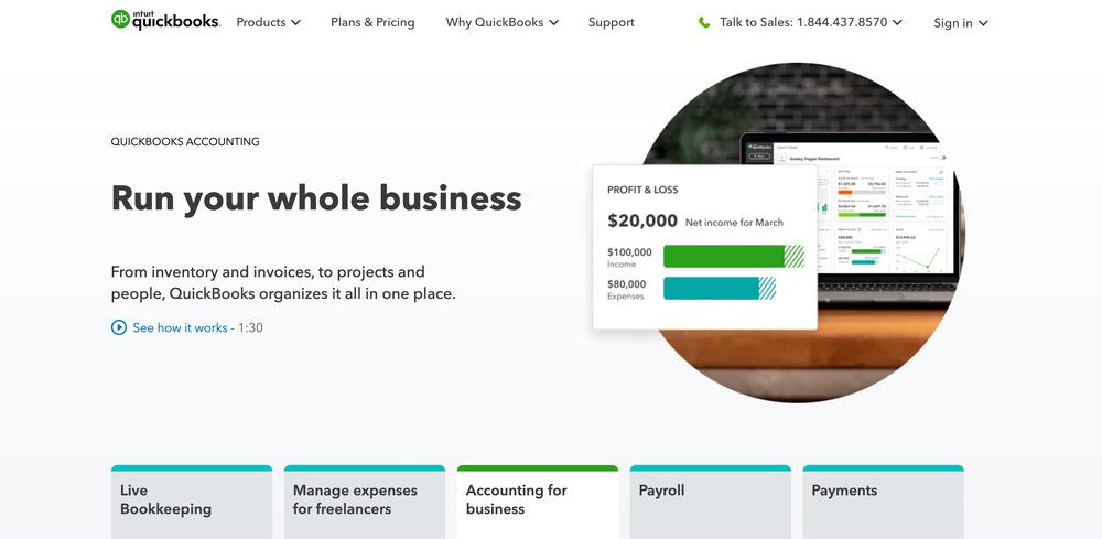 quickbooks - startup tools